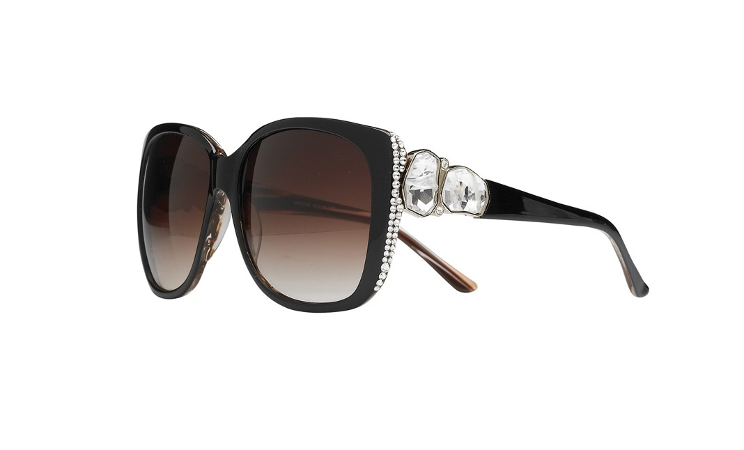 "cd3ffe07acd6 Jimmy Crystal NY ""Lesley"" Sunglasses"